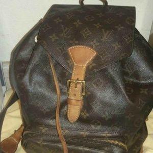 Louis Vuitton Montsouris backpack large